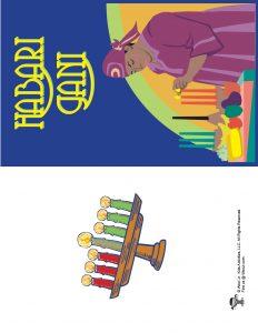 Habari Gani Printable Kwanzaa Card