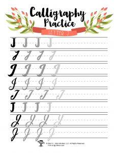 Letter J Journaling Bujo Aesthetic
