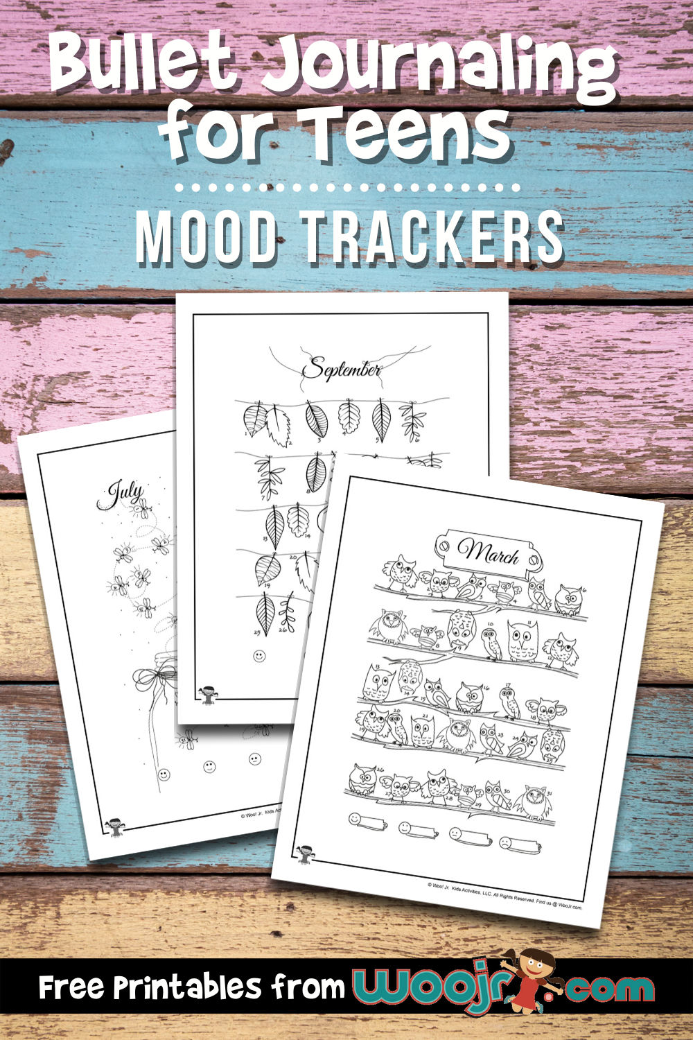 BUJO Mood Tracker Printables