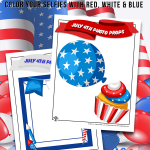 Patriotic Party Photo Props
