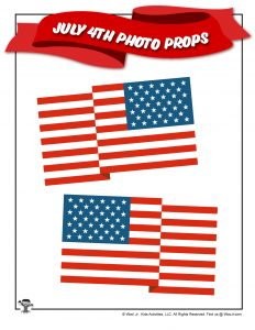 USA Flag for Kids to Print