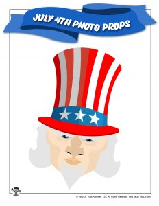 Printable Uncle Sam Photo Prop