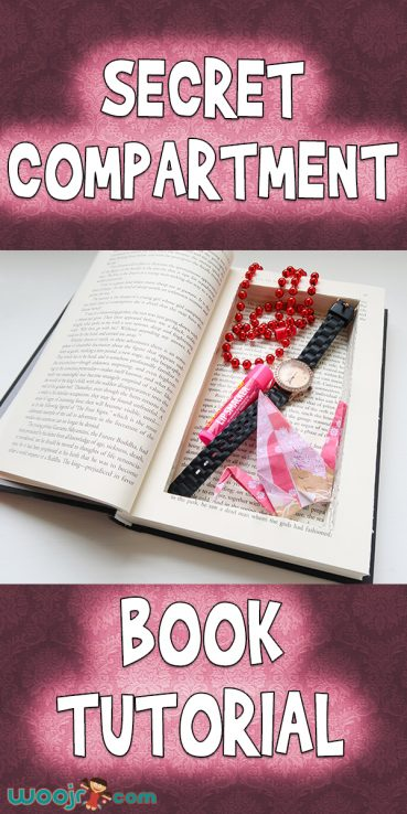 Secret Compartment Book Tutorial
