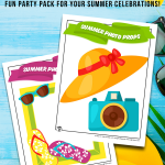 Printable Summer Photo Props