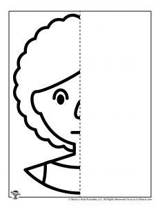 Emotions Drawing Worksheet for Kids