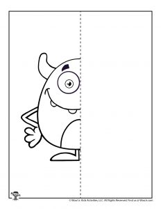 How to Draw a Monster Printable