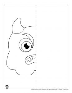 Monster Drawing Activity Page
