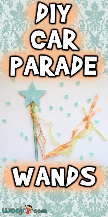 DIY Car Parade Wands