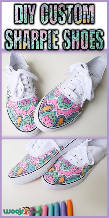 DIY Custom Sharpie Shoes