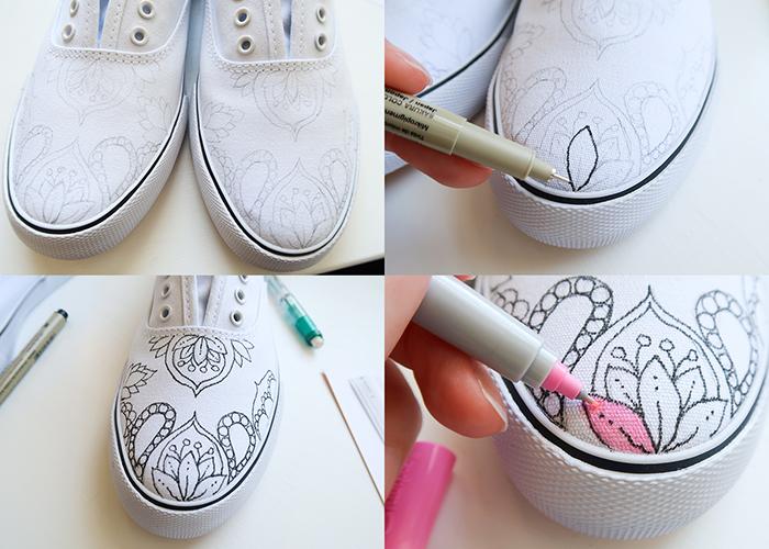 Diy Custom Sharpie Shoes Woo Jr Kids Activities