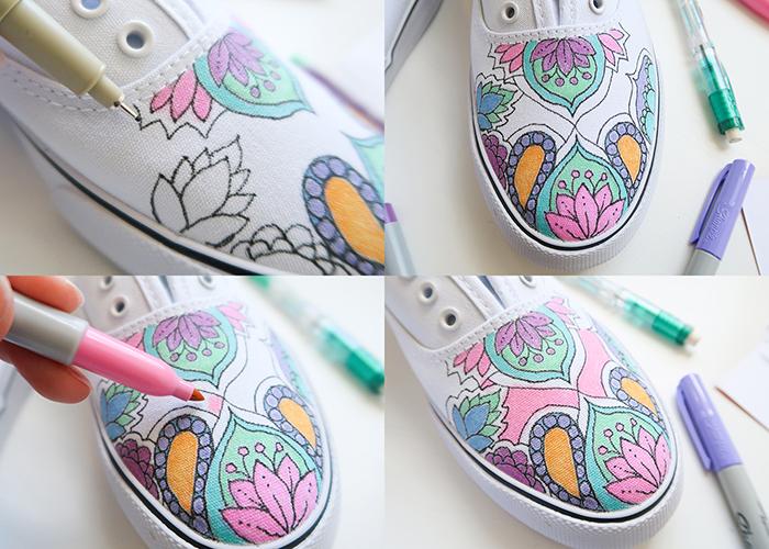 DIY Custom Sharpie Shoes