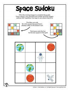 Easy Printable Sudoku for Kids