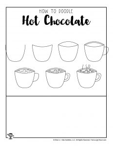Free Hot Chocolate Drawing Tutorial