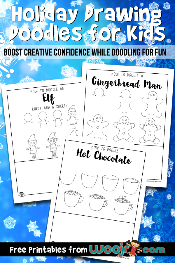 Holiday Drawing Doodles for Kids