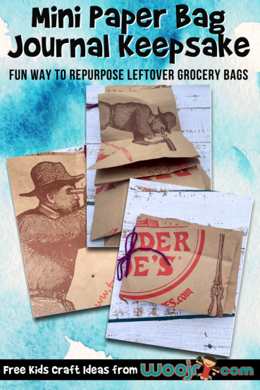 Mini Paper Bag Journal Craft