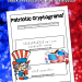 Patriotic Cryptogram Word Puzzles