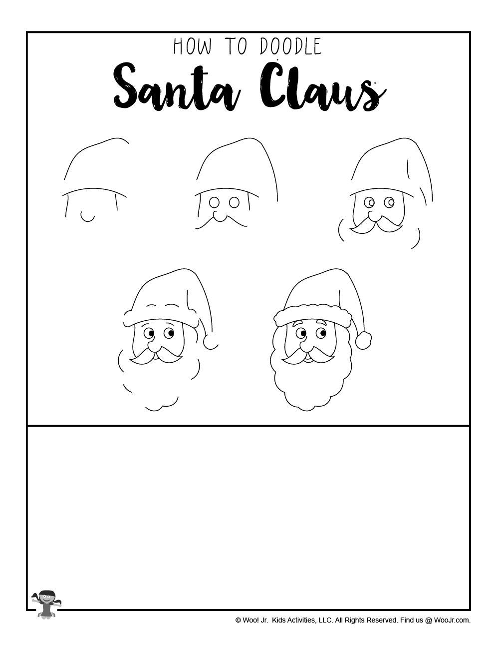 how to draw santa claus for kids woo jr kids activities how to draw santa claus for kids woo