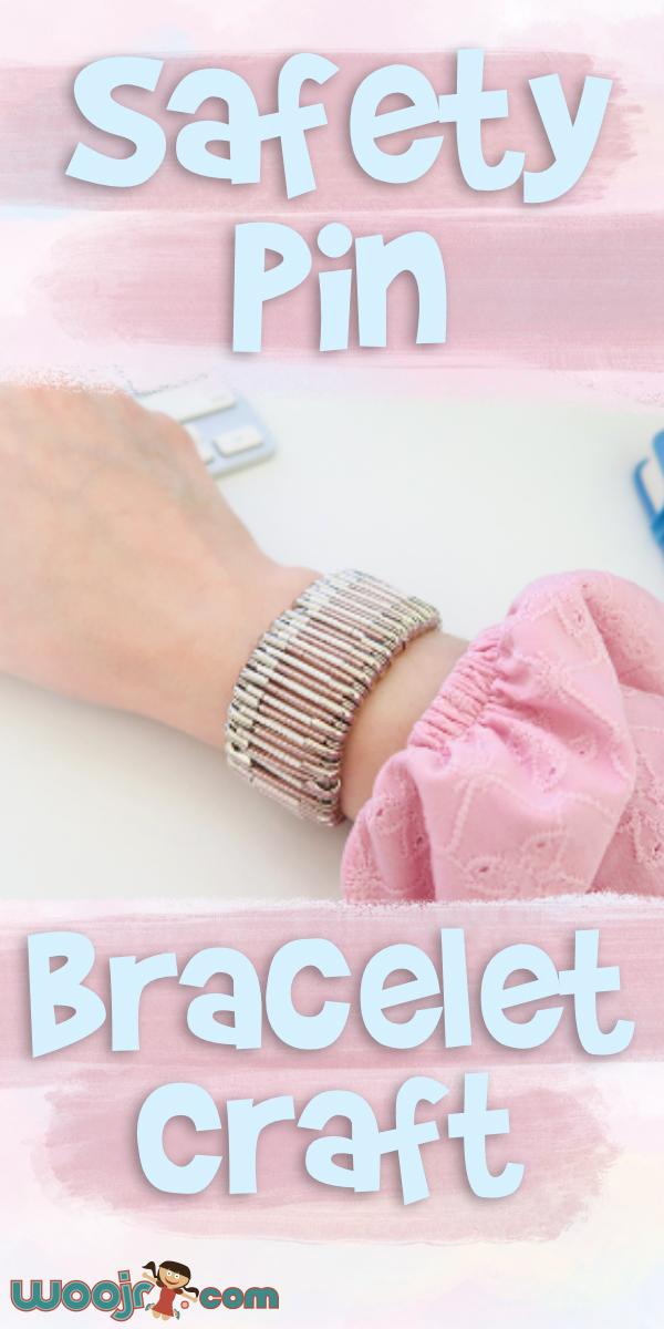 Safety Pin Bracelet Craft