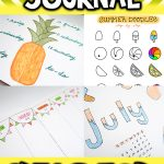 Summer Bullet Journal Ideas For Teens