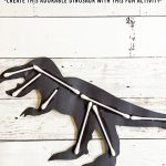 DIY Dinosaur Bones Art Project