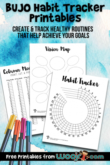 BUJO Habit Tracker Printables