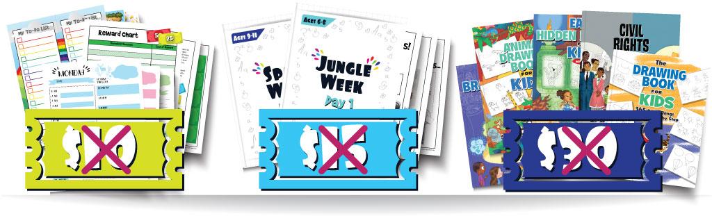 Time Management for Kids Printables