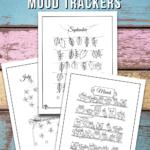 BUJO Mood Tracker Printables
