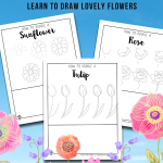 How to Draw Flowers for Kids