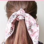 How to Sew a Scarf Scrunchie