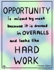 Opportunity Wall Art