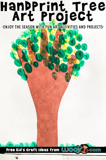 Handprint Tree Art Project