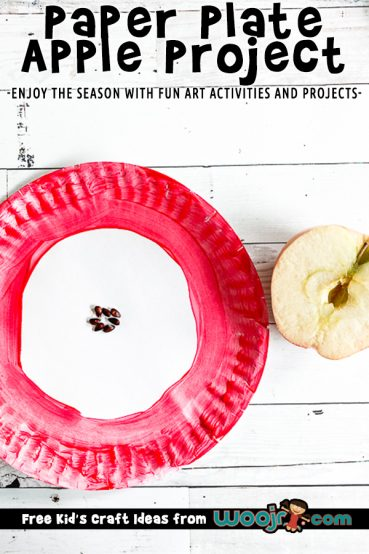 Paper Plate Apple Project