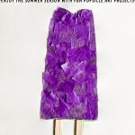 Tissue Paper Summer Art Popsicle Project