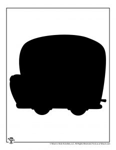 School Bus Back to School Template to Print
