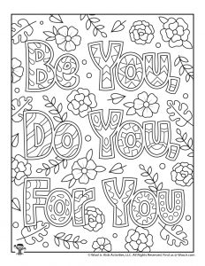 Adult Coloring Pages to Encourage