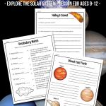 A Mini-Lesson on Solar Systems