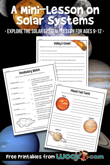 A Mini-Lesson on Solar Systems