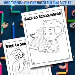 Printable Back to School Mazes