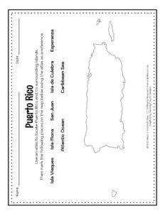 Bioluminescent Bay Map