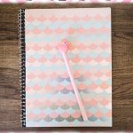 DIY Mermaid Notebook Cover