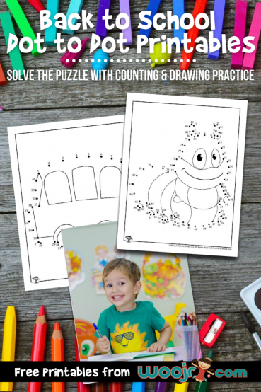 Back to School Dot to Dot Printables