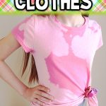 How to Bleach Dye Clothes for Teens