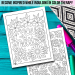 Positive Sayings Adult Coloring Pages