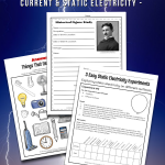 What is Electricity? Worksheets and Science Activity Ideas for Kids