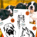 Dog Breeds Pumpkin Carving Stencils