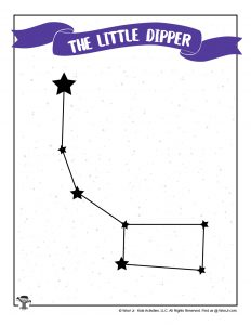 How to Draw the Little Dipper