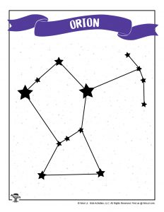 Orion Constellation for Kids