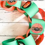 Paper Countdown Chain Halloween Craft