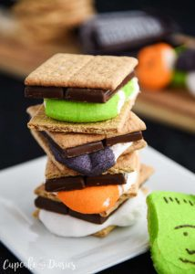 Halloween Smores by Cupcake Diaries