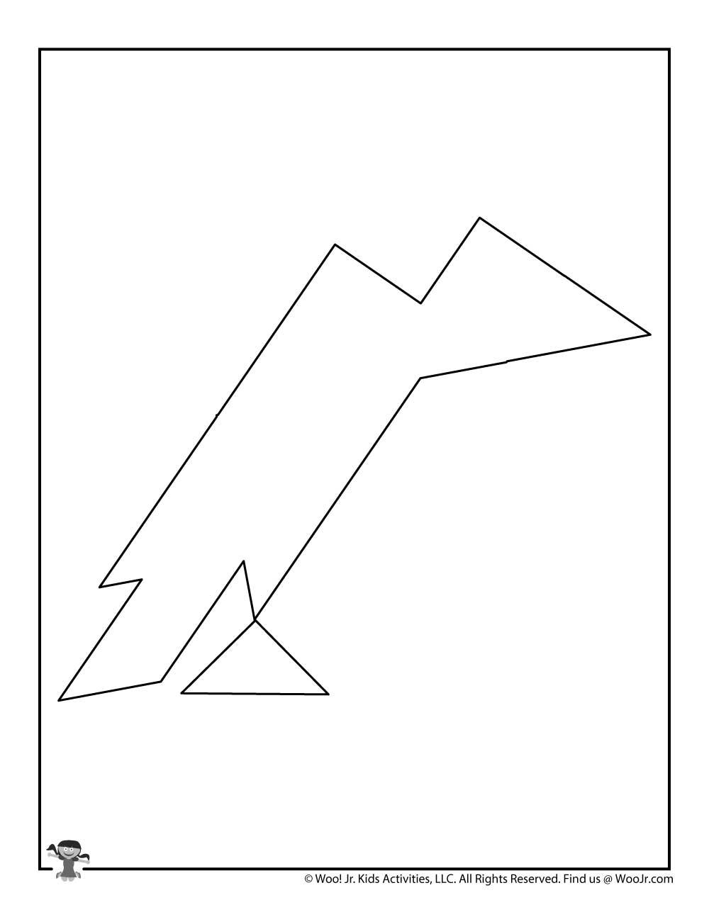crow halloween tangram puzzle  woo jr kids activities